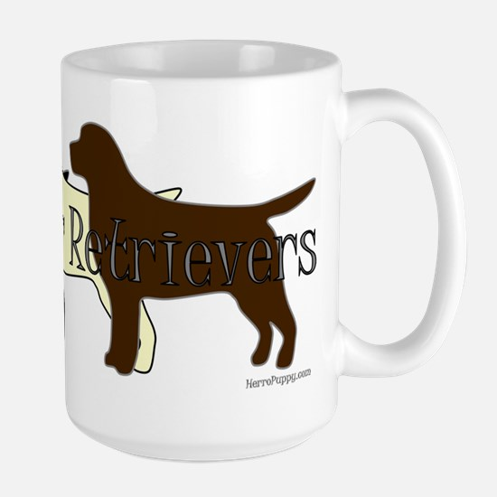 Labrador Retrievers Large Mug
