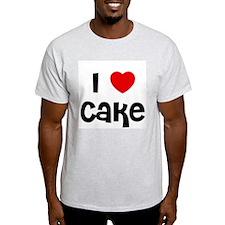 I * Cake Ash Grey T-Shirt