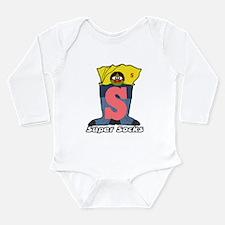 Mister S Long Sleeve Infant Bodysuit
