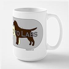 Addicted to Labs Mug