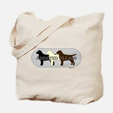 Addicted to Labs Tote Bag