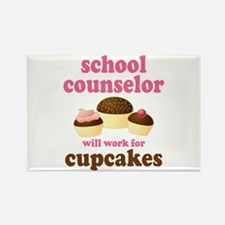 Funny School Counselor Rectangle Magnet