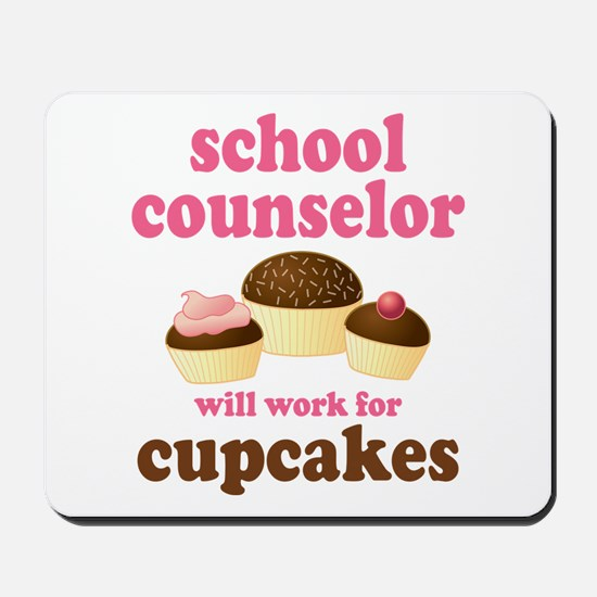 Funny School Counselor Mousepad