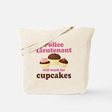 Funny Police Lieutenant Tote Bag