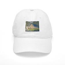 Stone House Painting #1 Baseball Cap