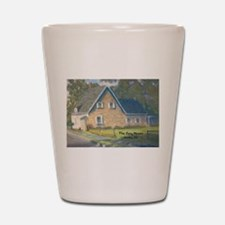Stone House Painting #1 Shot Glass