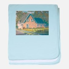 Stone House Painting #1 baby blanket