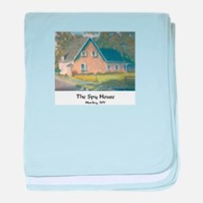 Spy House Painting #2 baby blanket