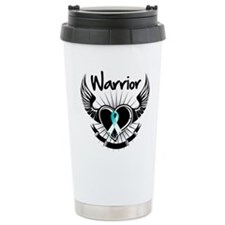 Warrior Cervical Cancer Travel Mug