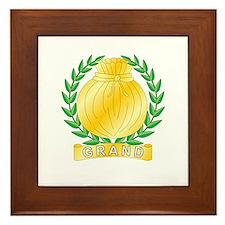 Grand Charity Framed Tile