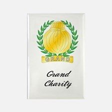 Grand Charity Rectangle Magnet (10 pack)