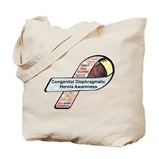 Emily Rae Godwin CDH Awareness Ribbon Tote Bag