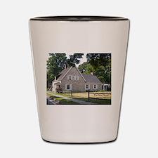 Cute Spy house Shot Glass