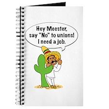 Hey Meester Journal
