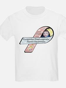 Ethan Michael Howard CDH Awareness Ribbon T-Shirt