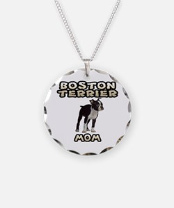 Boston Terrier Mom Necklace