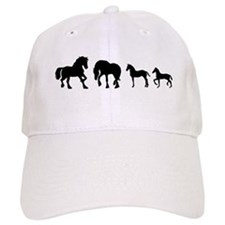 Cute Friesian Baseball Cap