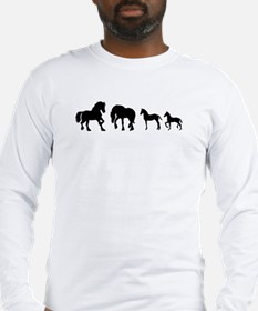 Unique Friesian Long Sleeve T-Shirt