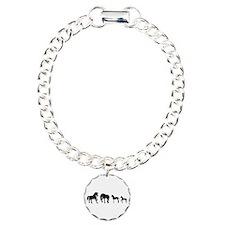 Unique Black horse Bracelet