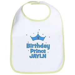 1st Birthday Prince JAYLN Bib