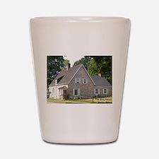 Spy House 4 Shot Glass