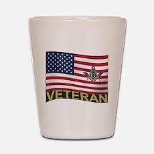 The Veteran Shot Glass