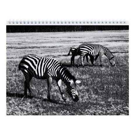 Africa in Black and White Wall Calendar