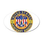 Merchant Marine Mason 22x14 Oval Wall Peel