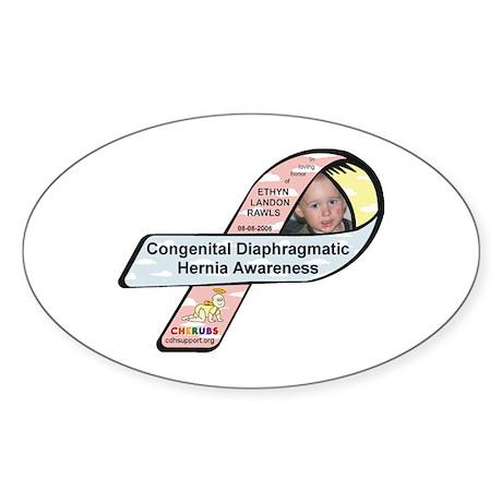 Ethyn Landon Rawls CDH Awareness Ribbon Sticker (O