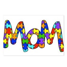 Mom Autism Awareness Postcards (Package of 8)