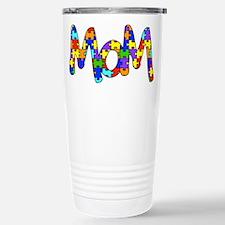 Mom Autism Awareness Travel Mug