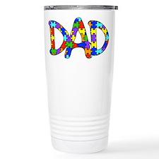 Dad Autism Awareness Travel Mug