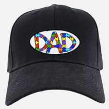 Dad Autism Awareness Baseball Hat