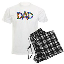 Dad Autism Awareness Pajamas
