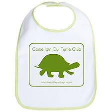 Turtle Club Bib