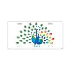 Autism peacocks Aluminum License Plate