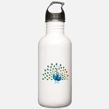 Autism peacocks Water Bottle