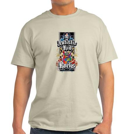 My Autistic Kid Rocks Light T-Shirt