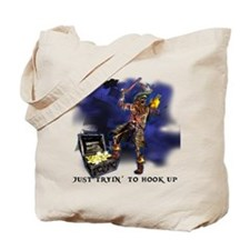 Just Tryin to Hook Up Tote Bag