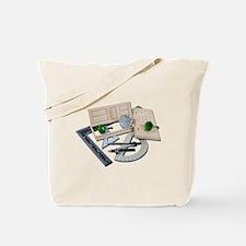 Crystal Doorknob Door Rulers Tote Bag