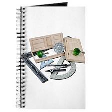 Crystal Doorknob Door Rulers Journal