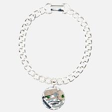 Crystal Doorknob Door Rulers Bracelet