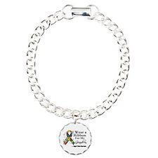 Grandson - Autism Ribbon Bracelet