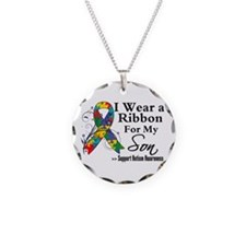 Son - Autism Ribbon Necklace
