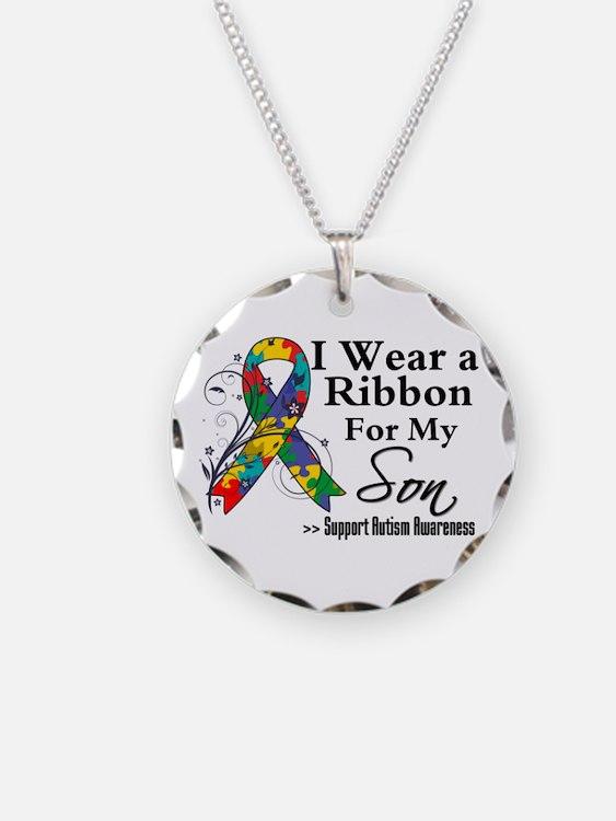 Son - Autism Ribbon Necklace