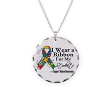 Students - Autism Ribbon Necklace