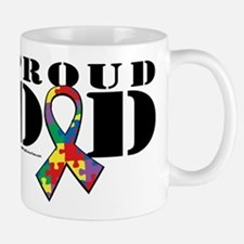 Autism Proud Dad Mug