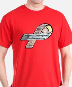 Bryson Alan Douglas CDH Awareness Ribbon T-Shirt