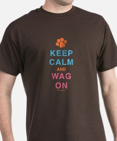 Keep Calm Wag On T-Shirt