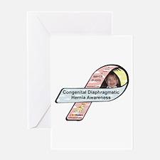 Bryer Floyd CDH Awareness Ribbon Greeting Card